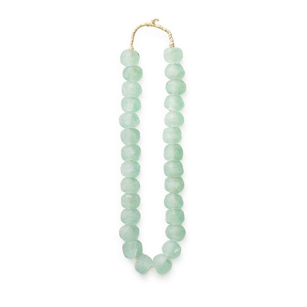 Sea Green Glass Beads - Decorative Accessory Accents Ghana