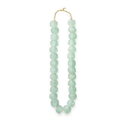Sea Green Glass Beads - Decorative Accessory