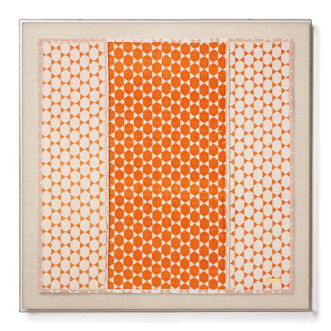 Biddew Orange - Sublime Framed Textile