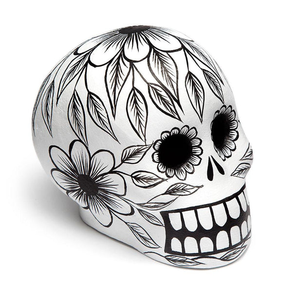 Day of the Dead Skull - Black