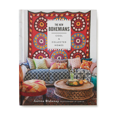 The New Bohemians Cool and Collected Homes Interior Coffee Table Book