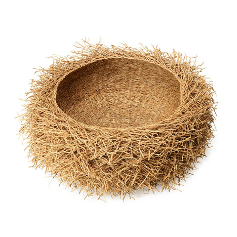 vetiver grass root bowl from madagascar