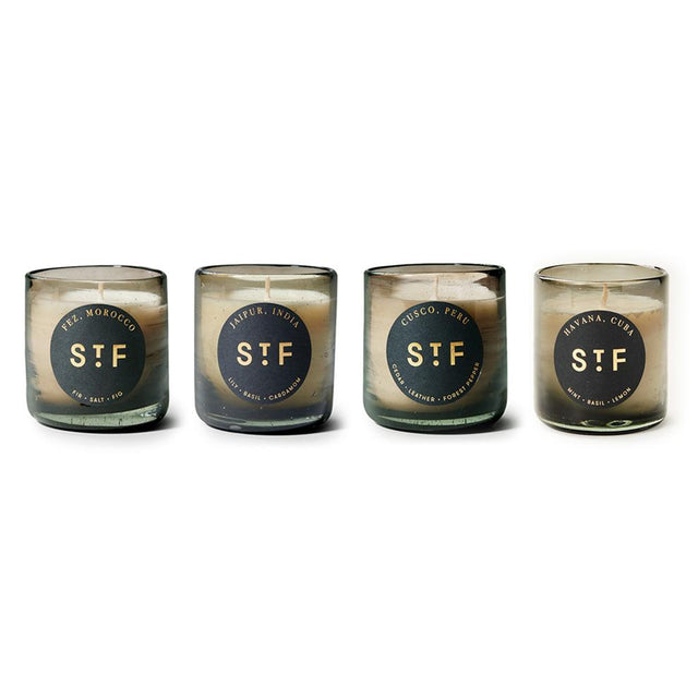 Candle Bundle - Set of 4 Fragrances Gifts St. Frank