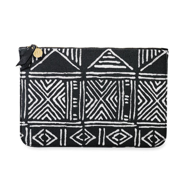 Mud Cloth Travel Clutch SOLD OUT St. Frank