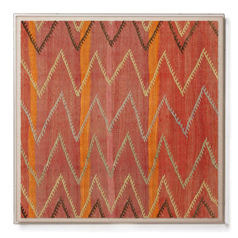 Chevron Kilim - Sublime Framed Print