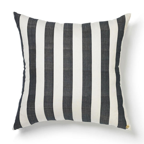 St. Frank Woven Country Cloth Pillow I Tribal Textile from Guinea