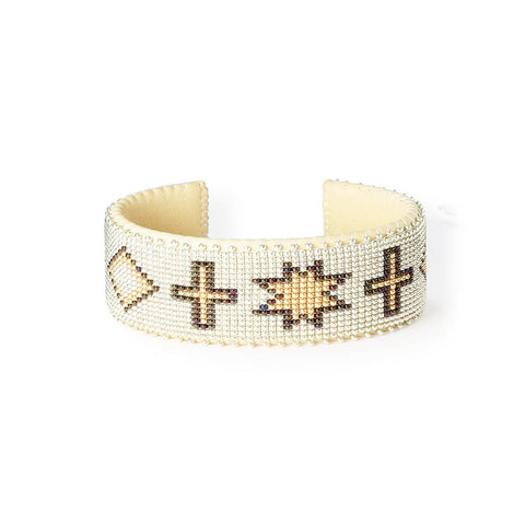 Gold Navajo - Large Cuff