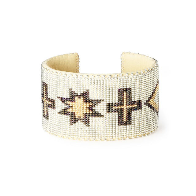Gold Navajo - XL Cuff Jewelry Etkie x St. Frank
