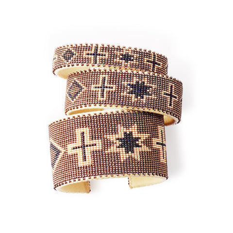 Bronze Navajo - Small Cuff