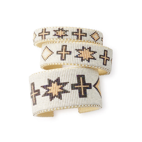 Gold Navajo - Small Cuff