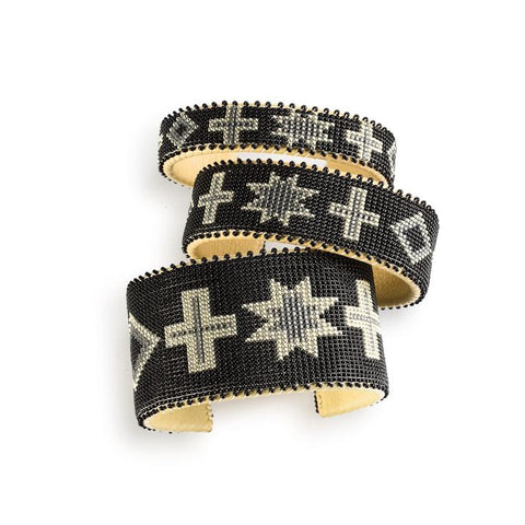 Black Navajo - Large Cuff