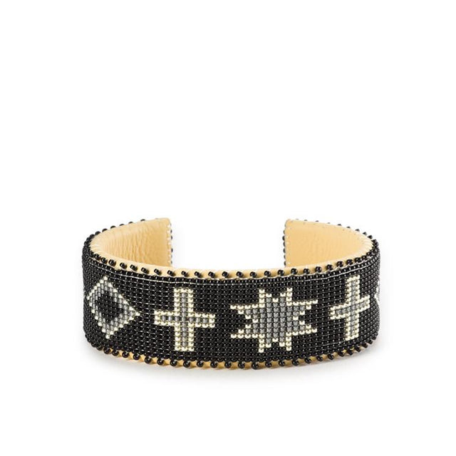 Black Navajo - Large Cuff Jewelry Etkie x St. Frank