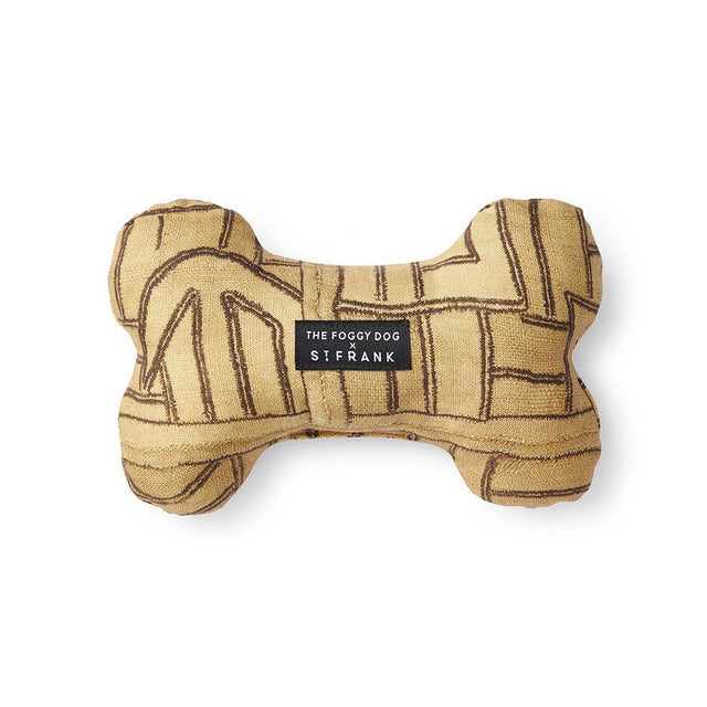 Golden Maze Kuba Cloth Bone - Dog Toy