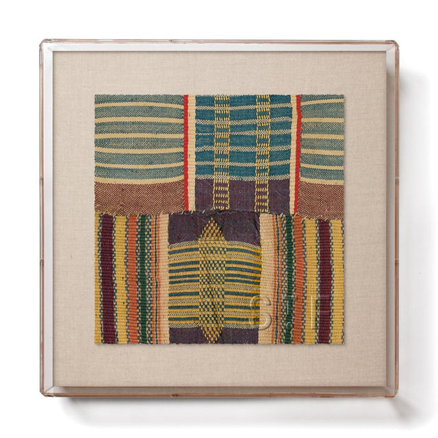 Ewe Kente - Mini Framed Print Print Togo
