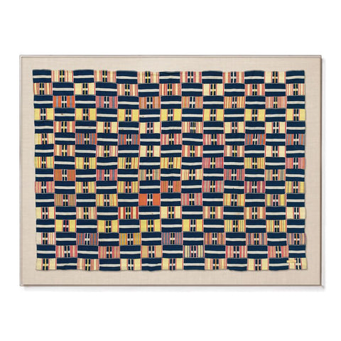 Ewe Kente II - Sublime Framed Textile