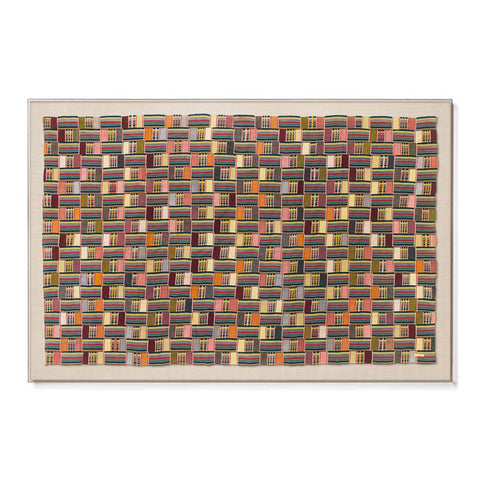 Ewe Kente I - Sublime Framed Textile