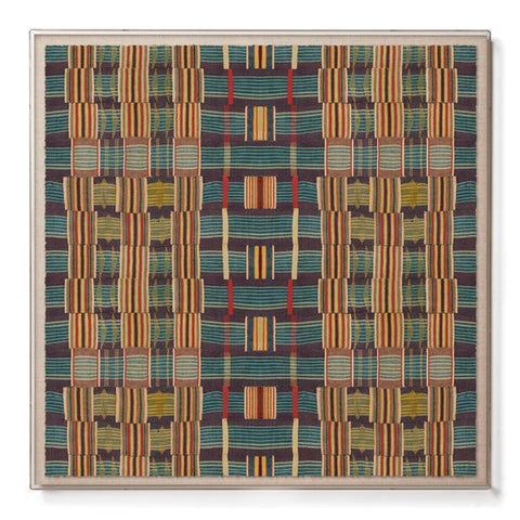 Ewe Kente - Sublime Framed Print