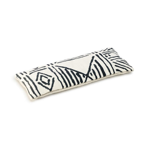 Ecru Classic Mud Cloth - Lavender Eye Pillow