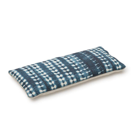 Dark Mini Vines Indigo - Lavender Eye Pillow