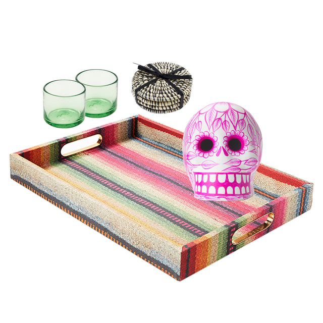 Fiesta Bar Cart - Bundle Decorative Accessory St. Frank