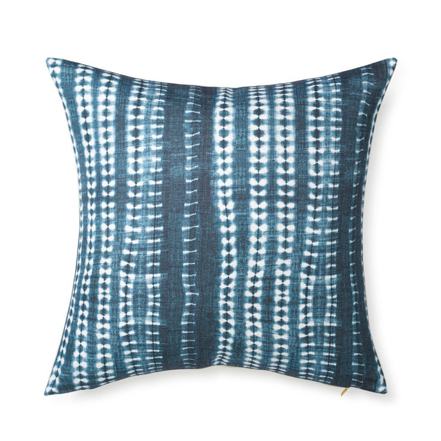Dark Vines Indigo - Floor Pillow