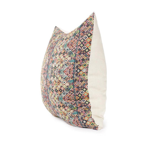 Pink Diamond Huipil - Floor Pillow