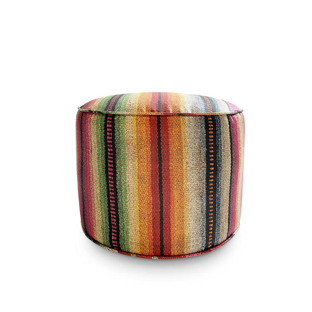 Technicolor Frazada - Classic Pouf Furniture Forsyth x St. Frank