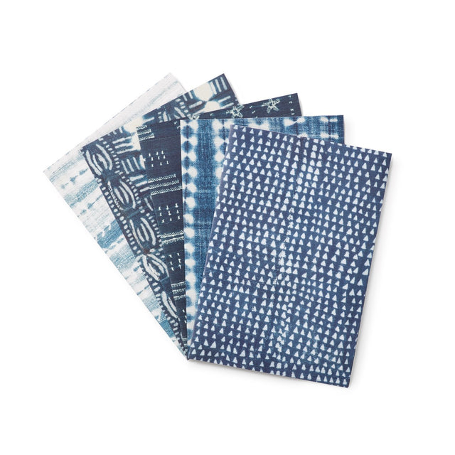 Indigo - Wrapping Paper Holiday Accent St. Frank