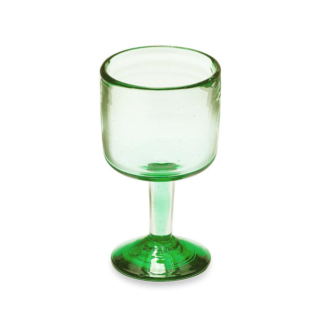 Green Wine - Glass Tabletop Mexico