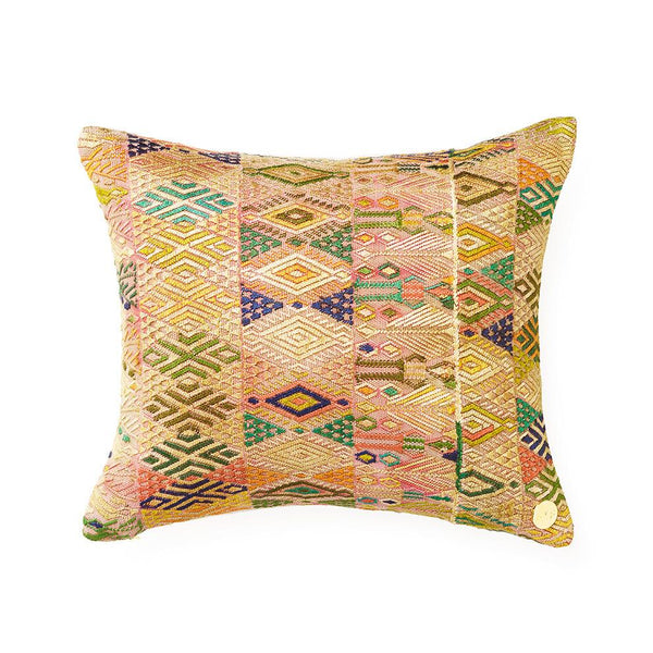 Huipil Pillow CXLIV