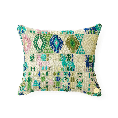 Huipil CXLV - Throw Pillow