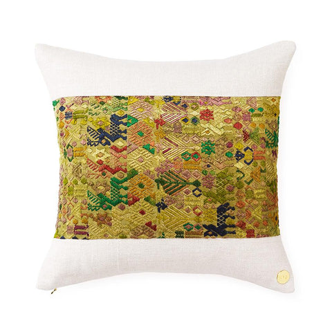 Huipil CXL - Throw Pillow