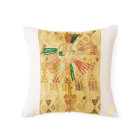 Huipil CXXVI - Throw Pillow