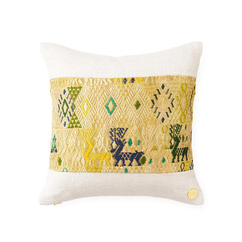 Huipil CXXXI - Throw Pillow