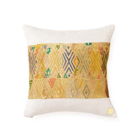 Huipil CXXX - Throw Pillow