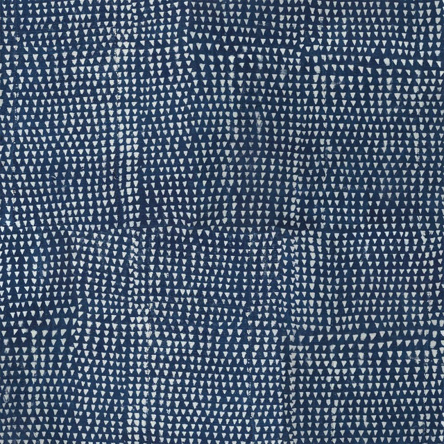 Arrows Indigo - Wallpaper Yardage St. Frank