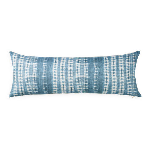 Light Vines Indigo - Lumbar Pillow