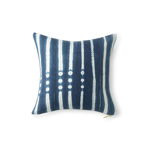 Indigo XCIII - Throw Pillow