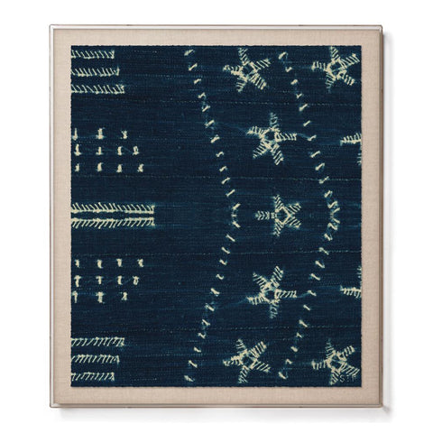 Star Indigo - Accent Framed Print