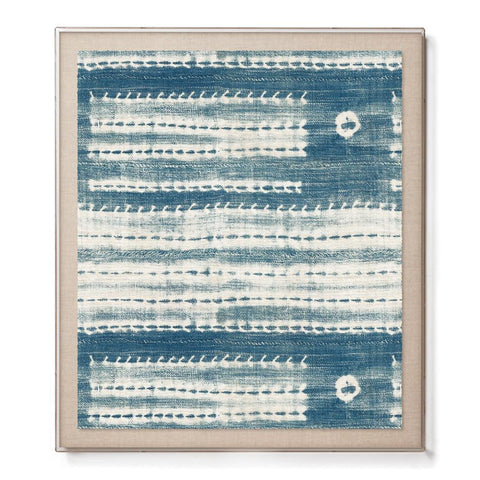Washed Indigo - Accent Framed Print