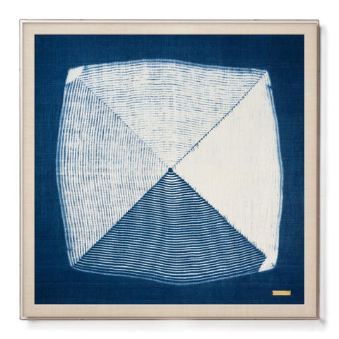 True Indigo - Sublime Framed Textile