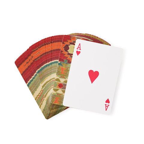 Kaleidoscope Kilim - Playing Cards