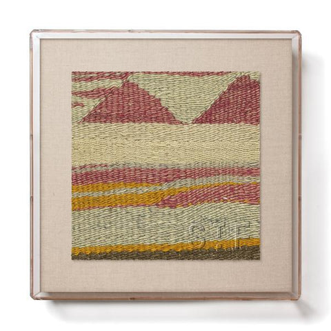 Mountains Kilim - Mini Framed Print