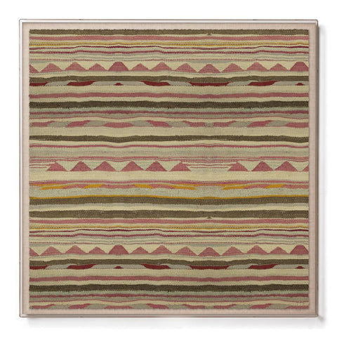 Mountains Kilim - Sublime Framed Print