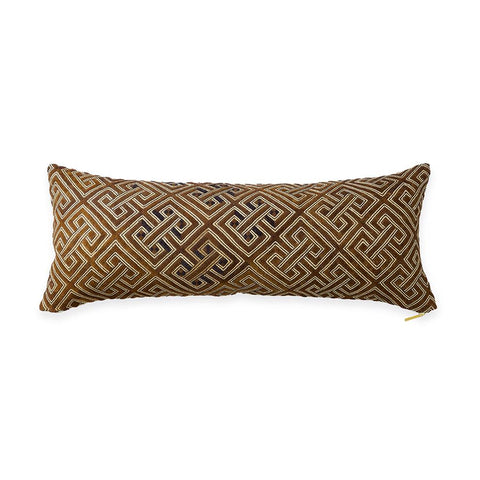 Kuba Cloth XIX - Lumbar Pillow