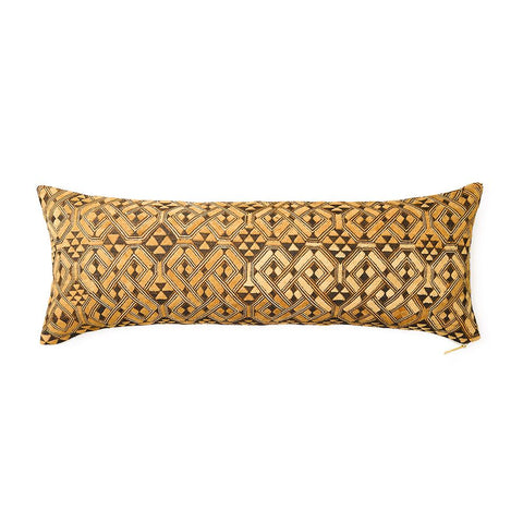 Kuba Cloth XVIII - Lumbar Pillow