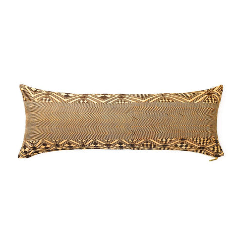 Kuba Cloth XVII - Lumbar Pillow