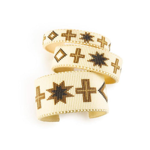 Cream Navajo - Small Cuff