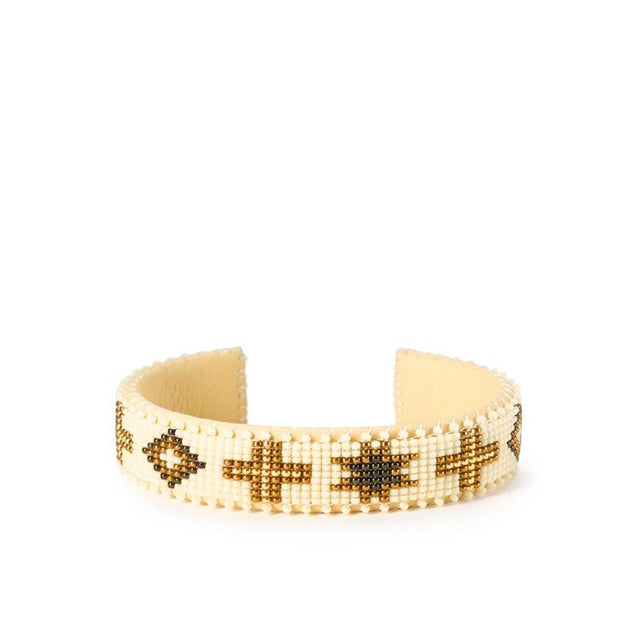 Cream Navajo - Small Cuff Jewelry Etkie x St. Frank