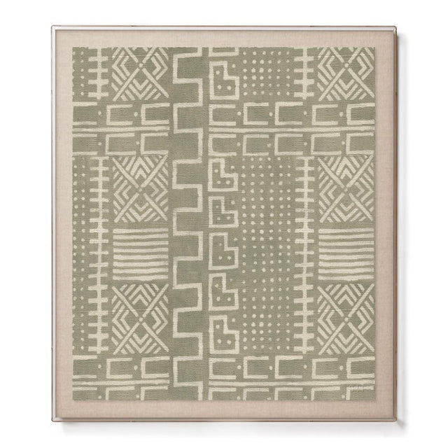 Mud Cloth II - Accent Framed Print